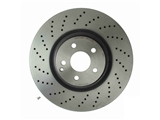 09A81911 Brembo Disc Brake Rotor; Front