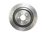 09A82211 Brembo Disc Brake Rotor; Rear