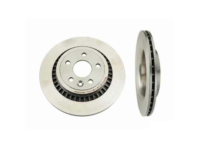 09B02611 Brembo Disc Brake Rotor; Rear