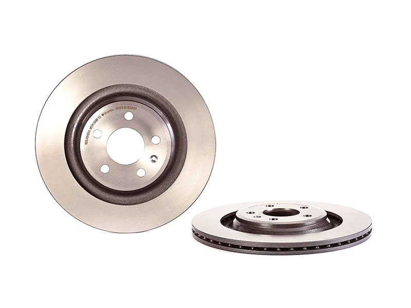 09B04011 Brembo Disc Brake Rotor; Rear; Vented 330mm