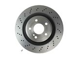 09B74351 Brembo Disc Brake Rotor; Rear
