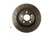 09B84241 Brembo Disc Brake Rotor; Rear