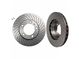 09C09511 Brembo Disc Brake Rotor; Front Right