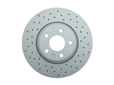 100335552 Zimmermann Sport Disc Brake Rotor; Front