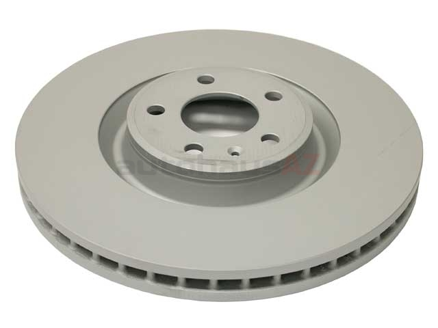 100335720 Zimmermann Coat Z Disc Brake Rotor; Front