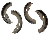 10198 Enduro Brake Shoe Set; Rear