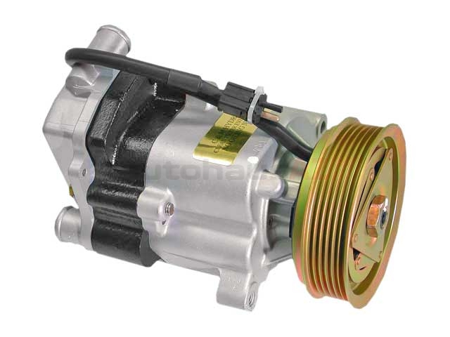 1041401485X C and M Secondary Air Injection Pump; With Clutch and Pulley