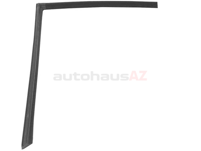 1077200578 URO Parts Door Window Seal; Left; Weatherstripping Around Window Cut-Out in Hard Top