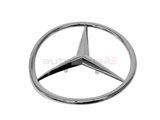 1077580458 Genuine Mercedes Emblem; Trunk Star