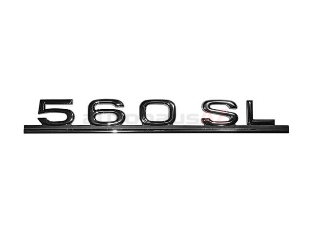 1078171415 Genuine Mercedes Emblem; 560SL Trunk Emblem