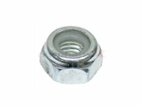 11053 Auveco Nut; M6x1mm, Nylon Insert