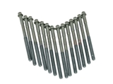 11121726478 VictorReinz Cylinder Head Bolt Set; Set of 14 Bolts