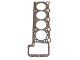 11121736348 VictorReinz Cylinder Head Gasket; Left (Cylinders 5-8); Standard 1.74mm Thickness