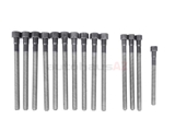 11127548799 VictorReinz Cylinder Head Bolt Set; Torx Head, 14 Bolt Set