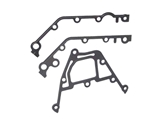 11141436978 VictorReinz Timing Cover Gasket Set; Lower Chain Case Cover