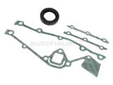 11141727986 VictorReinz Timing Cover Gasket Set; Seal and Gaskets with Front Crank Seal