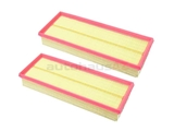 1120940604 Mann Air Filter Set; SET of 2