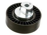 11287841228 Genuine BMW Drive Belt Idler Pulley; Deflection Pulley, Offset Mount; Water Pump/Alternator Belt