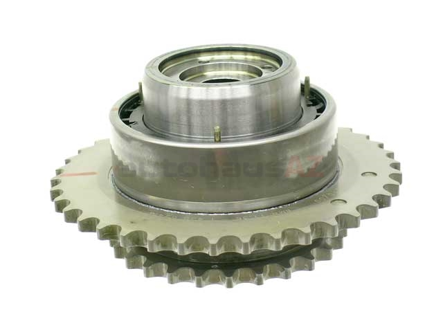 11361438694 Genuine BMW Camshaft Sprocket/Gear; Adjuster Unit with Sprocket