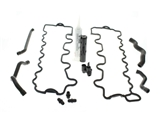 113BRTHRKIT AAZ Preferred Engine Crankcase Breather Hose Kit; Complete Valve Cover Gaskets and Breather Hose Kit