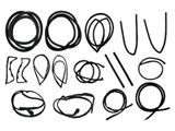 113SEALKIT URO Parts Body Seal Kit; 17 Pc. Weatherstripping/Seal Kit