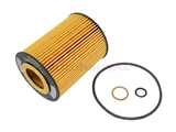 11427511161 Hengst Oil Filter Kit; Filter With Canister O-Ring and Seals