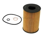 11427583220 Mahle Oil Filter Kit; Cartridge Type with Cover Seal