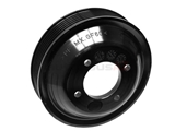 11511436590 Febi Water Pump Pulley; 132mm; Original Plastic Version