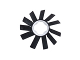 11521723363 Genuine BMW Cooling Fan Blade; 410mm with 11 Blades