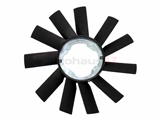 11521723573 URO Parts Cooling Fan Blade; 410mm with 11 Blades