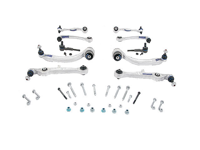 1160500082HD Meyle HD Suspension Control Arm Kit; Front