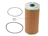 1191800009 Mahle Oil Filter Kit; Oil Filter with Seal Rings