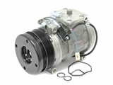 1192300011 Denso AC Compressor; New with 6-Groove Clutch