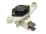1197311028 Bosch Voltage Regulator; 65-115 Amp; Round Button Type