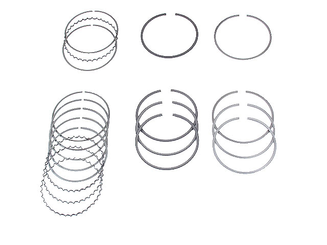 1214060A50STD NPR Piston Ring Set