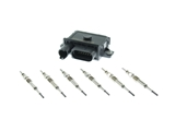 12218591724KIT AAZ Preferred Glow Plug Relay/Controller; Glow Plugs with Controller; KIT
