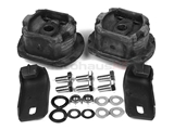 1233500175 Meyle Subframe Mounting Kit; Rear Subframe