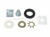 1237200114 Genuine Mercedes Window Regulator Bushing/Repair Kit; Lifter Slider Repair Kit