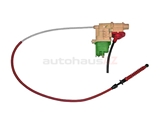 1242701673 Genuine Mercedes Auto Trans Shifter Cable; Kickdown with Actuator and Selection Program