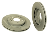 1244211612 Genuine Mercedes Disc Brake Rotor; Front; Vented 284x22mm