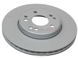 1244212412 Genuine Mercedes Disc Brake Rotor; Front; Vented 25mm Thick