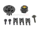 1248260100 Genuine Mercedes Headlight Mounting Screw; Installation Kit