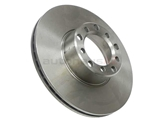 1264200005 ATE Disc Brake Rotor; Front; Vented 278x22mm
