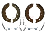 1264200120 Febi-Bilstein Parking Brake Shoe Set; Emergency/Parking Brake With Parts Kit