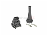 1287013003 Bosch Fuel Injector Terminal Kit; Terminal Repair Kit For 2 Prong Bosch Injector Type Plug
