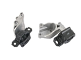 1322200148 Genuine Auto Trans Mount; Rear Left