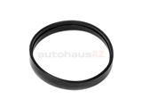 13711747985 Genuine BMW Air Intake Seal; Rubber Ring, Air Flow Sensor Boot at Throttle Body