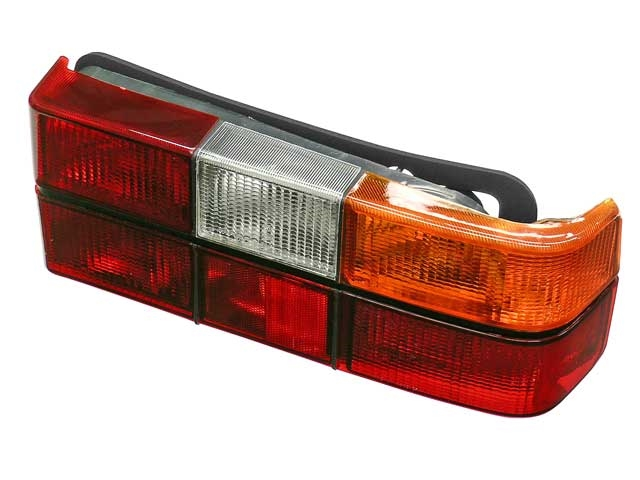 1372450E URO Parts Tail Light; Right; w/ Black trim; For sedans only