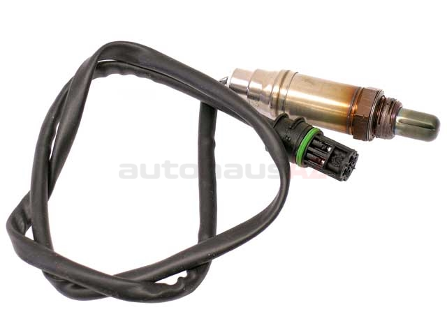 13949 Bosch Oxygen Sensor; Before Catalytic Converter, Front Manifold; OE Version, Four Wire Heated; 884mm