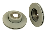 1404211012OE Genuine Mercedes Disc Brake Rotor; Front